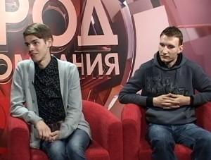 Vladislav Beglecov and Anton Samusenko