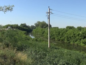 Most cherez reky Pavlovka