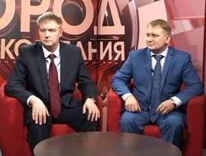 Alexander Sherin and Denis Nikitin