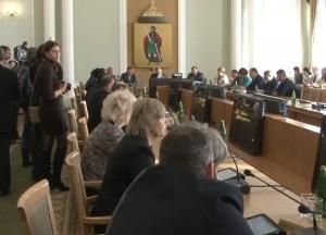 Zasedanie gorodskoy dumi